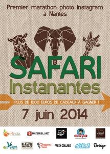 safari instanantes instagram-nantes